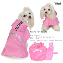 Central Park Poncho / Pink