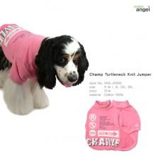 Champ Turtleneck Knit Jumper / Pink