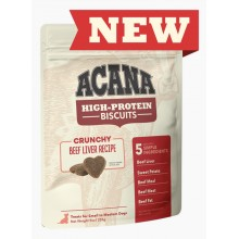Acana High-Protein Biscuits, Crunchy Beef Liver Recipe Large 9oz/255g