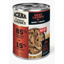 ACANA® Premium Chunks, Beef Recipe in Bone Broth WET DOG FOOD 12.8oz