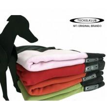 TECKELKLUB The Moderno Bone Dog Blanket, Green