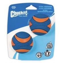 CHUCK IT! Ultra Squeaker ball 2 Pack Medium