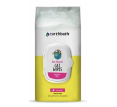 Earthbath Hypo-Allergenic Cat Grooming Wipes 100ct