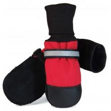 Muttluks Original Fleece-Lined Muttluks (4 Boots per package), XXL, Red