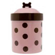"""Petrageous Designs Sassy Girl 8"""" Treat Jar"""
