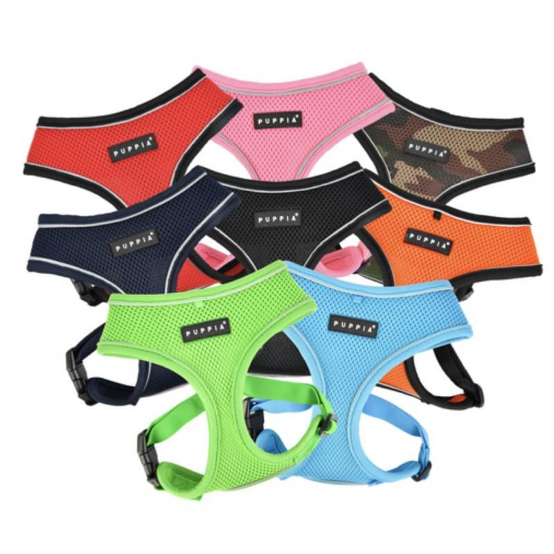 Puppia Reflective Soft Harness Pro A