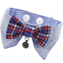 Catspia Gareth Cat Collar & Bow Tie by Puppia