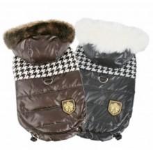 Puppia Classic Houndstooth Dog Coat